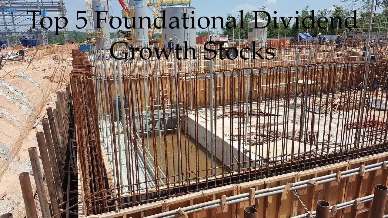 Top 5 Foundational Dividend Growth Stocks - Dividend Power
